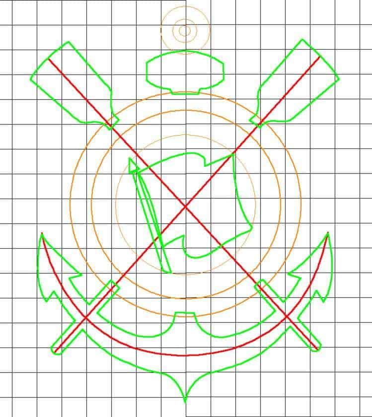 07 Como fazer o simbolo do corinthians