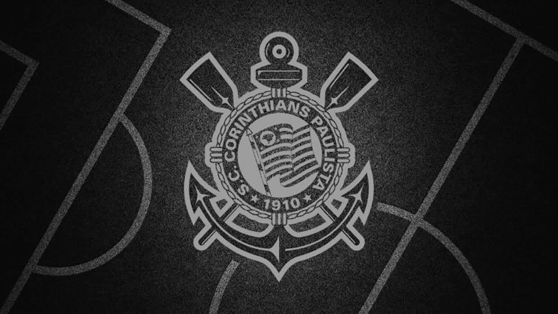 Como fazer o simbolo do Corinthians na parede