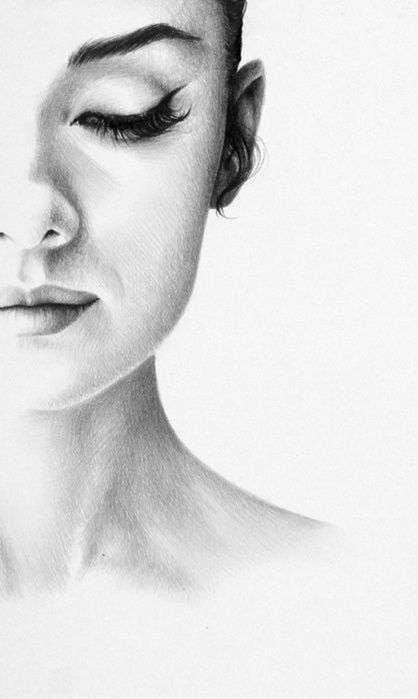 06 143 melhores imagens de Aerografia para Iniciantes rosto humano